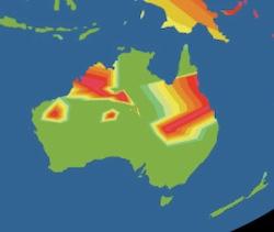 Australia lizard extinctions 2009